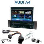 Autoradio 1-DIN GPS écran motorisé Audi A4 (B6) de 2000 à 2006 - NZ502E