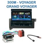 Autoradio 1-DIN GPS écran motorisé Chrysler 300M, Voyager & Grand Voyager - NZ502E