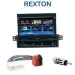 Autoradio 1-DIN GPS écran motorisé Ssangyong Rexton de 2001 à 2006 - NZ502E
