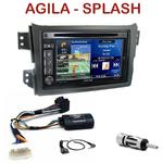 Pack autoradio GPS Opel Agila & Suzuki Splash depuis 2008 - INE-W990HDMI, INE-W710D, INE-W987D ou ILX-702D au choix