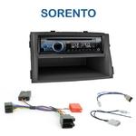 Poste 1-DIN CD/USB/Bluetooth Kia Sorento de 2009 à 2012 - autoradio JVC et Kenwood au choix