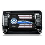 "Autoradio GPS VW Golf 5 & 6, Eos, Scirocco, Touran, Tiguan, Passat, Beetle - Ecran tactile 6,5"""