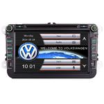 "Autoradio GPS VW Golf 5 & 6, Eos, Scirocco, Touran, Tiguan, Passat, Beetle - Ecran tactile 8"""