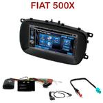Autoradio 2-DIN Alpine Fiat 500X depuis 2014 - CDE-W296BT, IVE-W560BT, IVE-W585BT OU ICS-X8 AU CHOIX
