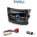 Autoradio 2-DIN Clarion Ssangyong Tivoli depuis 2015 - VX404E