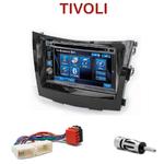 Autoradio 2-DIN Alpine Ssangyong Tivoli depuis 2015 - CDE-W296BT, IVE-W560BT OU IVE-W585BT AU CHOIX