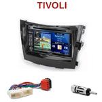 Pack autoradio GPS Ssangyong Tivoli depuis 2015 - INE-W990HDMI, INE-W710D, INE-W987D ou ILX-702D au choix