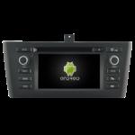 Autoradio GPS Android BMW Série 1 E81 E82 E87 E88 de 2006 à 2012 - Climatisation manuelle