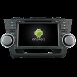 Autoradio Android 4.4.4 Toyota Highlander de 2008 à 2013