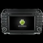 Autoradio GPS Android Mercedes Classe S W200 de 1998 à 2005