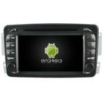 Autoradio GPS Android  Mercedes Benz Classe A W168, Classe C W203, Classe E W210, CLK, SLK W170, Classe G, Viano & Vito