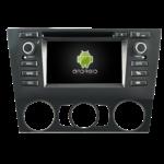 Autoradio GPS Android BMW Série 3 E90 E91 E92 E93 de 2005 à 2012 - Climatisation manuelle