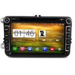 "Autoradio GPS Android Volkswagen Golf 5, Golf 6, Beetle, Eos, Touran, T5, Tiguan, Polo, Caddy, Passat, Jetta, Amarok, Sharan - Ecran 8"""