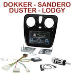 Autoradio 2-DIN Alpine Dacia Duster Lodgy Sandero et Dokker depuis 2012 - CDE-W296BT, IVE-W560BT, IVE-W585BT OU ICS-X8 AU CHOIX