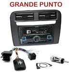 Autoradio 2-DIN Alpine Fiat Grande Punto depuis 2005 - CDE-W296BT, IVE-W560BT, IVE-W585BT OU ICS-X8 AU CHOIX