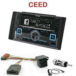 Autoradio 2-DIN Alpine Kia Ceed de 2007 à 2009 - CDE-W235BT, CDE-W296BT, IVE-W560BT, IVE-W585BT OU ICS-X8 AU CHOIX