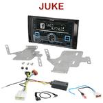Autoradio 2-DIN Alpine Nissan Juke depuis 2014 - CDE-W235BT, CDE-W296BT, IVE-W560BT, IVE-W585BT OU ICS-X8 AU CHOIX