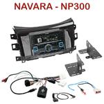 Autoradio 2-DIN Alpine Nissan Navara NP300 depuis 2015 - CDE-W235BT, CDE-W296BT, IVE-W560BT, IVE-W585BT OU ICS-X8 AU CHOIX