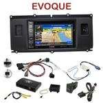 Autoradio GPS Range Rover Evoque de 2011 à 2015 - INE-W990HDMI, INE-W710D, INE-W987D ou ILX-702D au choix, commandes au volant INCLUSE