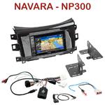 Autoradio GPS Nissan Navara et NP300 depuis 2015 - INE-W990BT, INE-W997D ou ILX-700 au choix