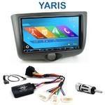 Autoradio 2-DIN GPS NX302E, NX405E, NX505E ou NX706E Toyota Yaris 2001 à 2003