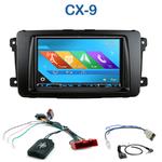 Autoradio 2-DIN GPS NX302E, NX405E, NX505E ou NX706E Mazda CX-9 de 2007 à 2009