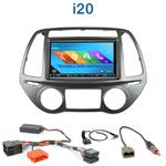 Autoradio 2-DIN GPS NX302E, NX405E, NX505E ou NX706E Hyundai i20 depuis 2012