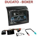Autoradio 2-DIN Alpine Fiat Ducato Citroen Jumper et Peugeot Boxer depuis 05/2014 - CDE-W296BT, IVE-W560BT, IVE-W585BT OU ICS-X8 AU CHOIX