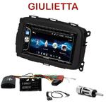 Autoradio 2-DIN Alpine Alfa Romeo Giulietta depuis 2013 - CDE-W296BT, IVE-W560BT OU IVE-W585BT AU CHOIX