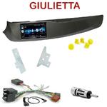 Autoradio 2-DIN Alpine Alfa Romeo Giulietta depuis 2010 - CDE-W296BT, IVE-W560BT OU IVE-W585BT AU CHOIX