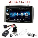 Autoradio 2-DIN Alpine Alfa Romeo 147 de 2000 à 2009 & GT depuis 2005 - CDE-W296BT, IVE-W560BT OU IVE-W585BT AU CHOIX