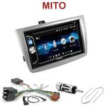 Autoradio 2-DIN Alpine Alfa Romeo Mito depuis 2008 - CDE-W296BT, IVE-W560BT OU IVE-W585BT AU CHOIX