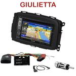 Autoradio GPS Alfa Romeo Giulietta depuis 2013 - INE-W990BT, INE-W997D ou ILX-700 au choix