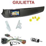 Pack autoradio GPS Alfa Romeo Giulietta depuis 2010 - INE-W990BT, INE-W997D ou ILX-700 au choix