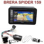 Pack autoradio GPS Alfa Romeo 159, Brera & Spider depuis 2005 - INE-W990BT, INE-W997D ou ILX-700 au choix