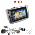Pack autoradio GPS Alfa Romeo Mito depuis 2008 - INE-W990BT, INE-W997D ou ILX-700 au choix