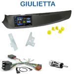 Autoradio 2-DIN Clarion Alfa Romeo Giulietta depuis 2010 - VX404E