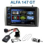 Autoradio 2-DIN Clarion Alfa Romeo 147 de 2000 à 2009 & GT depuis 2005 - VX404E
