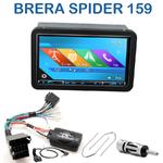 Autoradio 2-DIN GPS NX302E, NX405E, NX505E ou NX706E Alfa Romeo 159, Brera & Spider depuis 2005