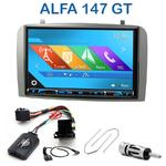 Autoradio 2-DIN GPS NX302E, NX405E, NX505E ou NX706E Alfa Romeo 147 & GT