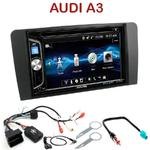 Autoradio 2-DIN Alpine Audi A3 de 2003 à 2012 - CDE-W296BT, IVE-W560BT OU IVE-W585BT AU CHOIX