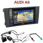 Pack autoradio GPS Audi A6 de 05/2001 à 05/2005 - INE-W990HDMI, INE-W710D, INE-W987D ou ILX-702D au choix