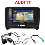 Pack autoradio GPS Audi TT de 2006 à 2012 - INE-W990HDMI, INE-W710D, INE-W987D ou ILX-702D au choix
