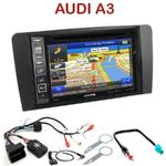 Pack autoradio GPS Audi A3 de 2003 à 2012 - INE-W990HDMI, INE-W710D, INE-W987D ou ILX-702D au choix