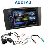 Autoradio 2-DIN Clarion Audi A3 de 2003 à 2012 - VX404E