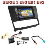 Pack autoradio GPS BMW Série 3 E90 E91 E92 - INE-W990BT, INE-W997D ou ILX-700 au choix