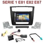 Pack autoradio GPS BMW Série 1 E81 E82 E87 E88 - INE-W990HDMI, INE-W710D, INE-W987D ou ILX-702D au choix