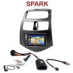 Pack autoradio GPS Chevrolet Spark depuis 2010  - INE-W990HDMI, INE-W710D, INE-W987D ou ILX-702D au choix