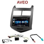 Autoradio 2-DIN Alpine Chevrolet Aveo depuis 2011 - CDE-W296BT, IVE-W560BT OU IVE-W585BT AU CHOIX