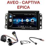 Autoradio 2-DIN Alpine Chevrolet Aveo de 2006 à 2010, Captiva depuis 2006 & Epica de 2006 à 2012 - CDE-W296BT, IVE-W560BT OU IVE-W585BT AU CHOIX